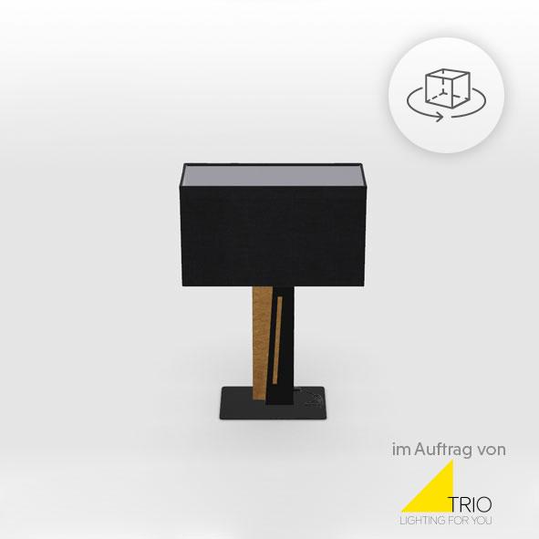 A lamp 3d image